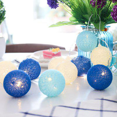 5 Meter 28 Cotton Ball Lights Weihnachtsdekoration LED Lights String