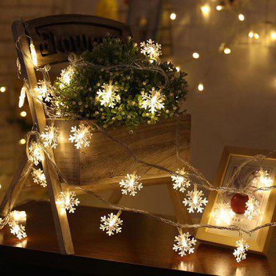 Christmas LED String Lights Flash Lights Stars Decorative Lamps Festival Hanging Lights Small Lanterns