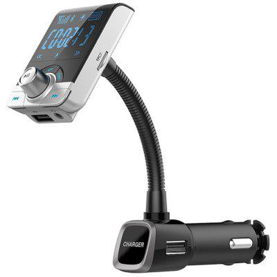Car Bluetooth Hands-free MP3 Music Player  FM Transmitter USB Car Charger