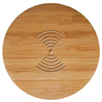 Bamboo Wood Mobile Phone Wireless Charging Transmitter