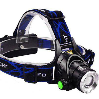 Head Light Rechargeable Flashlight Led Outdoor Fishing Light