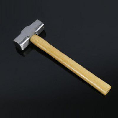 Hand Tools Pure Steel Forged Octagonal Hammer Polished White Primary Color Wooden Handle Octagonal Hammer