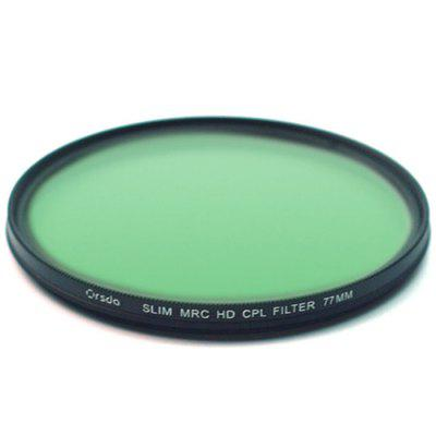 Orsda Polarizer CPL Filter Camera Round Filter Polarizer 37/52/58mm Multi-caliber