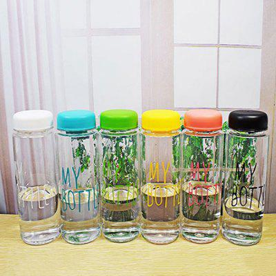 Water Cup Sports Outdoor Transparent Cup Straight Hand Cup