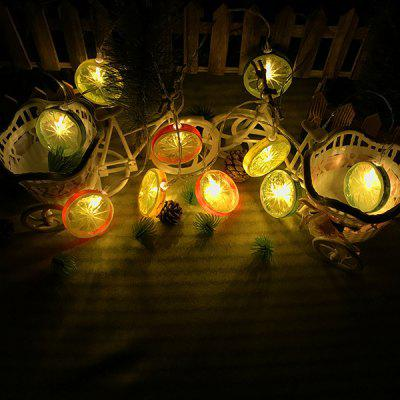 Lantern Led Lemon Slice Light String Bar Restaurant Decoration Lanterns Christmas Lights Holiday Lights