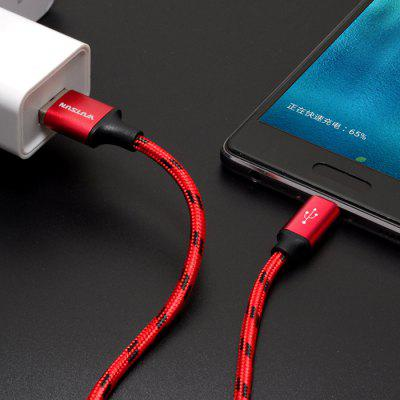 USB Data Cable 0.25 M 3 M Long Alloy Charging Cable Micro USB Data Cable