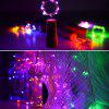 Decorative Christmas Day Party Cork Light String 20LED Copper Wire Light - 2 METERS 20 LIGHTS - PURPLE