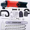 Chainsaw Household 220V Logging Saw Electric Chain Saw Small Multifunctional Woodworking Angle Grinder Chain Saw Modified Portable - ANGLE GRINDER