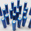18650 Glare Flashlight Rechargeable Lithium Battery - BLUE