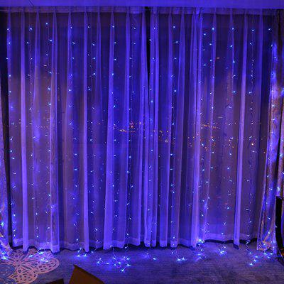 Holiday Christmas Curtain Lights Led Lights String Ice Strips Decoratieve Gordijn Lights