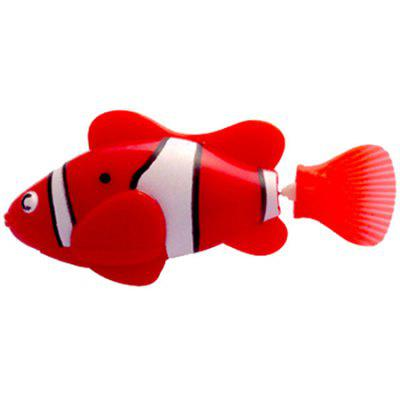 Inductive Magical Robot Fish Electronic Fish Swim Infant Play Water Bath Toys