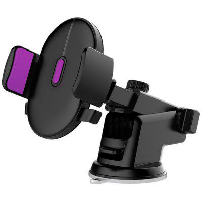 Car Phone Holder Long Rod Telescopic Car Dashboard Suction Cup Mobile Phone Holder Overseas