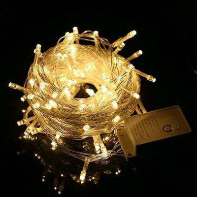 LED Starry Lights String Engineering Outdoor Waterdichte Decoratieve verlichting Bruiloft Festivals Blote String Lights String