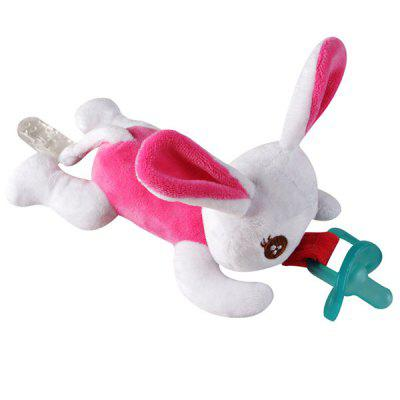 Baby Pacifier Hanging Detachable Plush Animal Doll Baby Toy