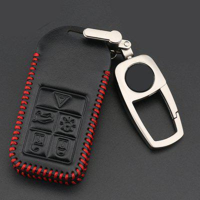 Key Case Shell Buckle Leather Modification for Volvo XC60 / S90 / XC90 / V40 / S60L / V90