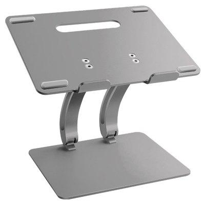 Aluminum Lift Tablet Stand High Height Table Base Bracket for Mac Laptop Computer