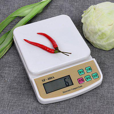 SF - 400A Electronic Scale Kitchen Scale Household Baking Scale Food Called Mini Platform Scale Precision Gram Scale