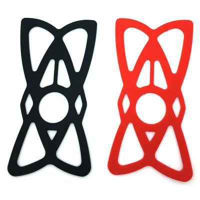 Car Bracket Mesh Protective Cover Motorcycle Bicycle Scooter Rubber Band Mobile Phone Protective Cover Super Elastic Rubber