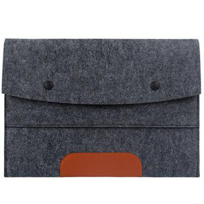 Laptop Liner Bag Fashion British Portable Protective Cover Felt Computer Bag
