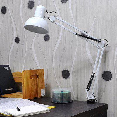 LED Table Lamp Bedside Lamp Creative Gift Clip Work Lamp Study Office Wrought Iron Folding Lamp