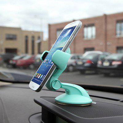 Car Mobile Phone Bracket Car Navigation Bracket Suction Cup Outlet Creative Car Phone Holder