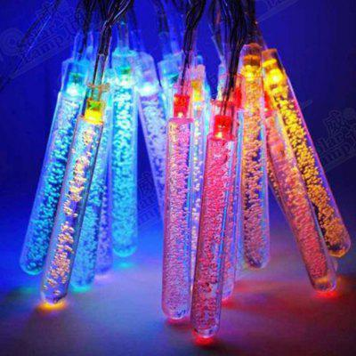 Solar Light String 20LED Ice Cone Eiszapfen Styling Weihnachten Festliche Holiday Light String