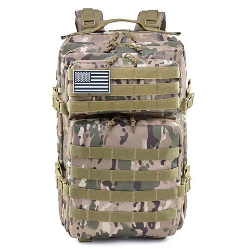 d838058a0e8f Sports Outdoor Backpack 45L Attack 3P Package Travel Backpack Camping Army  Camouflage Tactical Backpack