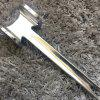 Meat Steak Kitchen Gadget Small Knock Meat Hammer - SILVER