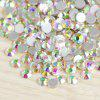 Nail Flat Bottom Colorful Diamonds Symphony AB Diamond DIY Nail Color Diamond Package - SS6AB (2.0MM) 1440