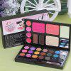 Dark Blue Magic Makeup Box ( Eyeshadow + Blush + Powder + Lipstick + Eyebrow Powder ) Makeup Set - 2#