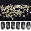 Nail Polish White Glass Rhinestone Super Bright Rhinestone Set - 03 (50)