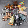 Baby Pacifier Hanging Detachable Plush Animal Doll Baby Toy - PUPPY