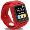 U80 Independent Card Bluetooth Smart Watch Adult Smart Pedometer Bluetooth Anti-lost Device - RED