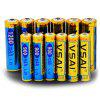 Slot Charger AA AAA NiMH Rechargeable Battery Set 12PCS - VSAI SIX-SLOT SET