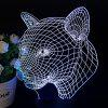 3D Colorful Night Light Acrylic Led Lights Usb Plug-in Decorative Table Lamp Creative Gifts - L151 ELEPHANT