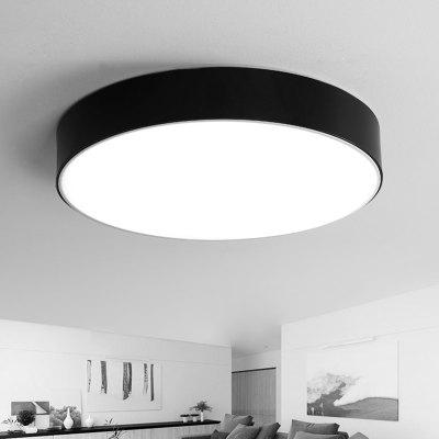 LED Ceiling Simple Round Lamp for Bedroom / Living Room