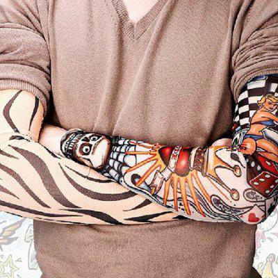 Tattoo Sleeves Outdoor Men And Women Sun Protection Riding Sleeves