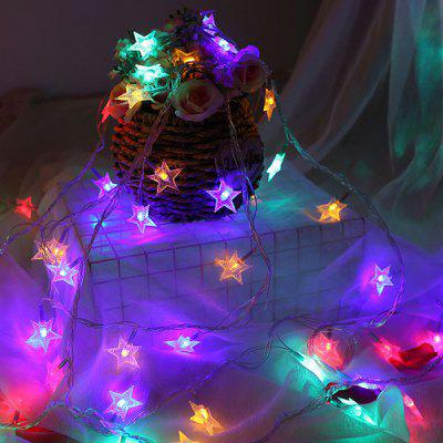 Led Star Light Decorative Starry Five-pointed Star Light