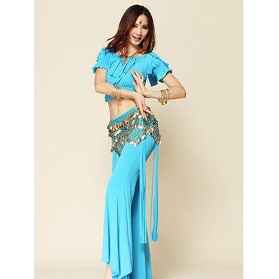 Belly Dance Indian Five-layer Three-row Two-angle Waist Chain