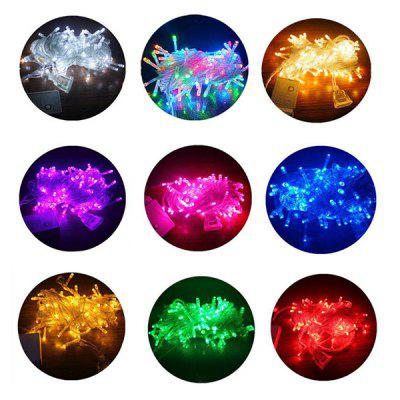 LED Lantern Christmas Lights With Stars Flashing Lights Festival Wedding Decoration Lights Mall Outdoor Light Strings