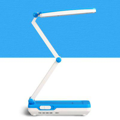 LED Eye Protection Desk Lamp Students Folding Small Table Lamp Creative Simple Rechargeable Book Light