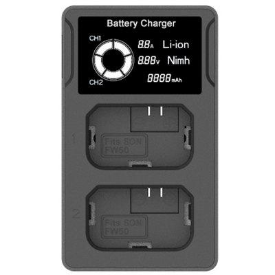 Fw50 USB LCD Durable Dual Charger