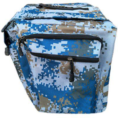 Mountain Bike Camouflage Double Bag Riding Equipment