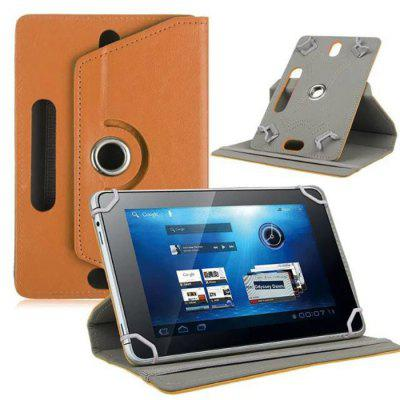 Tablet Case 7 Inch 8 Inch 9 Inch 10 Inch Universal Leather Case Three Hole Rotating Four Hook Flat Leather Case
