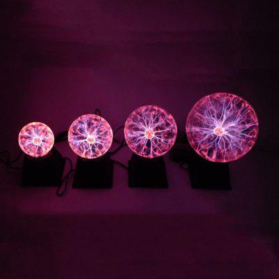 Negative Ion Electro-optical Ball Q Electrostatic Magic Ball Touch Induction Magic Light Lightning Glow Ball