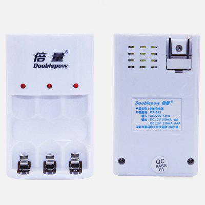 Rechargeable Battery Charger Nickel Hydride Nickel Cadmium 1.2V Battery Charger 3 Slot Charging