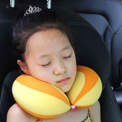 Children Car U-shaped Pillow Travel Pillow Baby Safety Seat Support