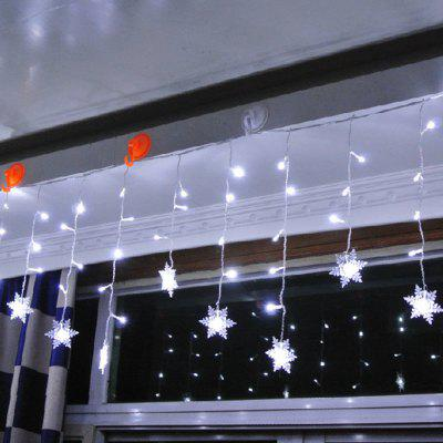LED Snow Flake Light Curtain Light LED Decorazione Festival Lantern Luce natalizia Anchor Light Background Forniture di nozze