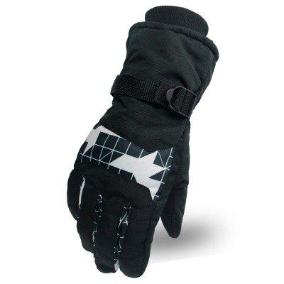 Warm Skiing Winter Comfortable Wearable Fashion Riding Gloves