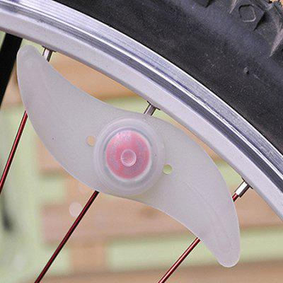 Unique Switch Design Bicycle Silicone Lamp